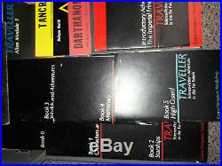 15 RPG Lots GDW Traveller Deluxe Edition 15 Books Total & Deck Plan 5 25mm Scout