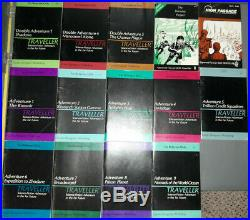 15 Vintage RPG Lots! GDW Traveller 14 Adventure Module Books take all or choose