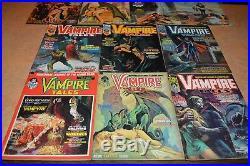 1973/74 Marvel Vampire Tales Comic Book Set! 10 Comics! Must See! Nice