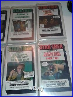 1977-78 Set of 12 Star Trek Fotonovel Paperback Book Lot- wrapped and MINT
