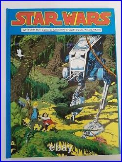 1991 STAR WARS GRAPHIC NOVEL LOT 3 SignedARCHIE GOODWIN AL WILLIAMSON 1/2500