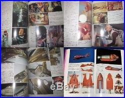 1993 Thunderbirds picture' PINK' BOOK Gerry Anderson JAPAN UFO Space 1999 etc
