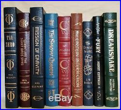 19 Easton Press Masterpieces of Science Fiction book lot Free shipping EXCELLENT