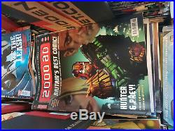 2000AD Comic Book Collection- Mixed Lot
