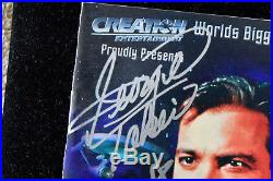 2002 Star trek Conventional in Pasadena With 22 Cast Signatures on Souvenir Book