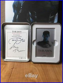 2018 SDCC Star Wars Thrawn Alliances Variant Signed Hardcover Book & Audiobook