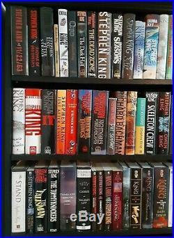 53 Stephen King HCDJ books lot Stand IT Richard Bachman complete Dark Tower