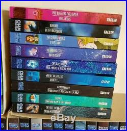 60 x Doctor Who Eighth Dr Adventures EDA BBC Books All MINT & Unread Job Lot
