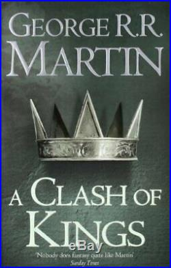 A Clash of Kings (A Song of Ice and Fire) by Martin, George R. R. Paperback Book