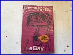 A Clockwork Orange Anthony Burgess Heinemann HB 1970 withdj UK rare sci-fi book