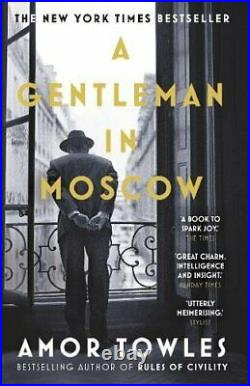 A Gentleman in Moscow The worldwide bestseller by Towles, Amor Book The Cheap