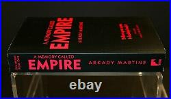 A Memory Called Empire by Arkady Martine ARC Uncorrected Proof Hugo Award Winner