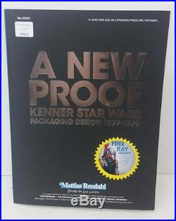 A New Proof Kenner Star Wars Packaging Design 1977-1979 Paperback Book Signed