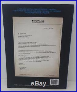 A New Proof Kenner Star Wars Packaging Design 1977-1979 Paperback Book Signed