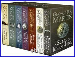 A Song of Ice and Fire, 7 Volumes by George R. R. Martin Book The Cheap Fast Free
