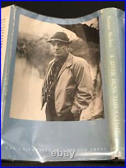 A river runs through it book 1st Edition 1st printing title page norman maclean