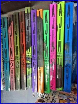 Ajin Vol. 1,2,3,4,5,6,7,8,9,11,12 (Manga) (11 Books) New 9781939130846