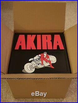 Akira 35th Anniversary Box Set by Katsuhiro Otomo New Hardcover Book