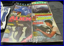 Alien Collectibles Lot Books Comic Books Art Magazines Giger Ridley Scott