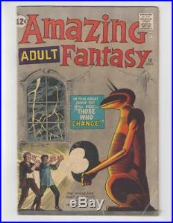 Amazing Adult Fantasy #10/Silver Age Marvel Comic Book/Steve Ditko/VG+