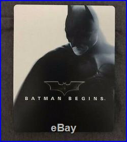 Amazon. Co. Jp limited Batman Begins Blu-ray SteelBook rare from Japan Steel Book