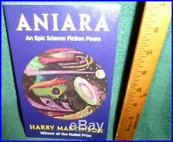 Aniara An Epic Science Fiction Poem by Harry Martinson SUPER RARE BOOK