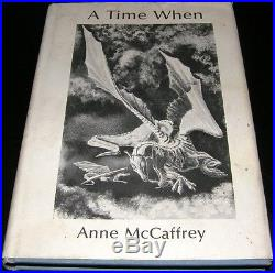 Anne McCaffrey SIGNED A Time When NUMBERED Sci Fi Book NESFA 1st Ed RARE