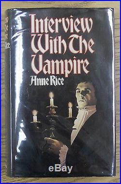 Anne Rice. INTERVIEW WITH THE VAMPIRE. Raven Books, 1976. 1st U. K. HC/DJ. Scarce
