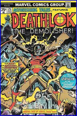 Astonishing Tales Comic Book #25 First Deathlok, Marvel Comics 1974 NEAR MINT