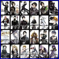 BLACK BUTLER Fantasy MANGA Series by Yana Toboso Paperbacks Book Collection 1-24