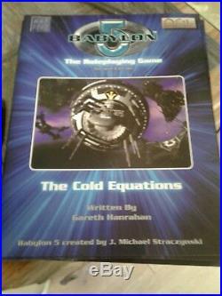 Babylon 5 RPG BOOK LOT Station Guide Plus 9 Books Darkeness and Light, Universe