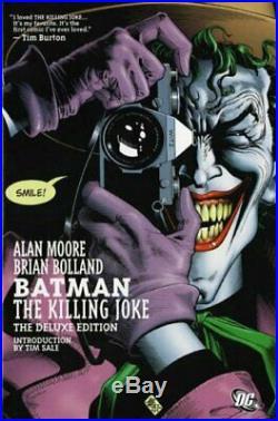Batman The Killing Joke (Deluxe Edition) by Alan Moore Hardback Book The Cheap