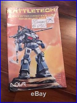 BattleTech Science Fiction Combat Book Game (1987) 5 Book Bundle (UNOPENED)
