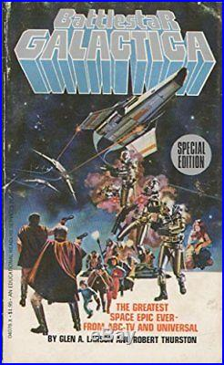 Battlestar Galactica by Thurston, Robert Paperback Book The Cheap Fast Free Post