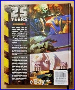 Battletech 25 Years of Art & Fiction large hardcover art book (Catalyst)