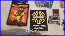Battletech Novels, Game and More including The Sword and the Daggar 122 book Lot