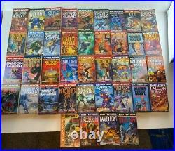 Battletech mechwarrior 40 book lot