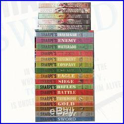 Bernard Cornwell Sharpe 22 Books Collection Pack SetSword, Prey, Havoc, Devil, Gold