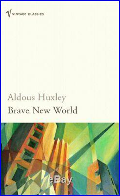 Brave New World by Aldous Huxley Paperback Book The Cheap Fast Free Post