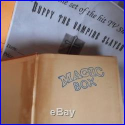 Buffy the Vampire Slayer PROP Book from the MAGIC BOX Willow Giles