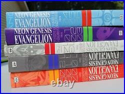 COMPLETE Vol 1-5 Neon Genesis Evangelion Manga (3 in 1 Omnibus Book) Volumes 2 4