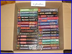 COMPLETE set 63 Classic BattleTech Mechwarior Books The Sword And The Dagger