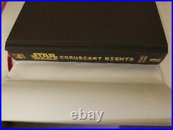 CORUSCANT NIGHTS JEDI TWILIGHT, STREET OF SHADOWS, By Michael Reaves Hardcover