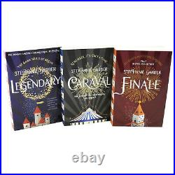 Caraval Series 3 Books Adult Collection Paperback Set Pack By Stephanie Garber