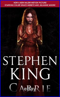 Carrie by King, Stephen Book The Cheap Fast Free Post