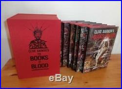 Clive Barker The Books of Blood Signed lettered Subterranean Press RARE
