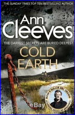 Cold Earth (Shetland) by Cleeves, Ann Book The Cheap Fast Free Post