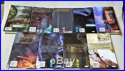 Complete Matching Set of 9 STAR WARS LEGACY OF THE FORCE Hardcover Books EUC
