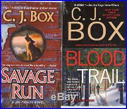 Complete Set Lot of 18 Joe Pickett Mystery books by C. J. Box Open Season Savage