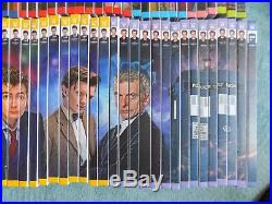 Complete Set Of Doctor Who The Complete History Hardback Books Issues 1 90 OOP